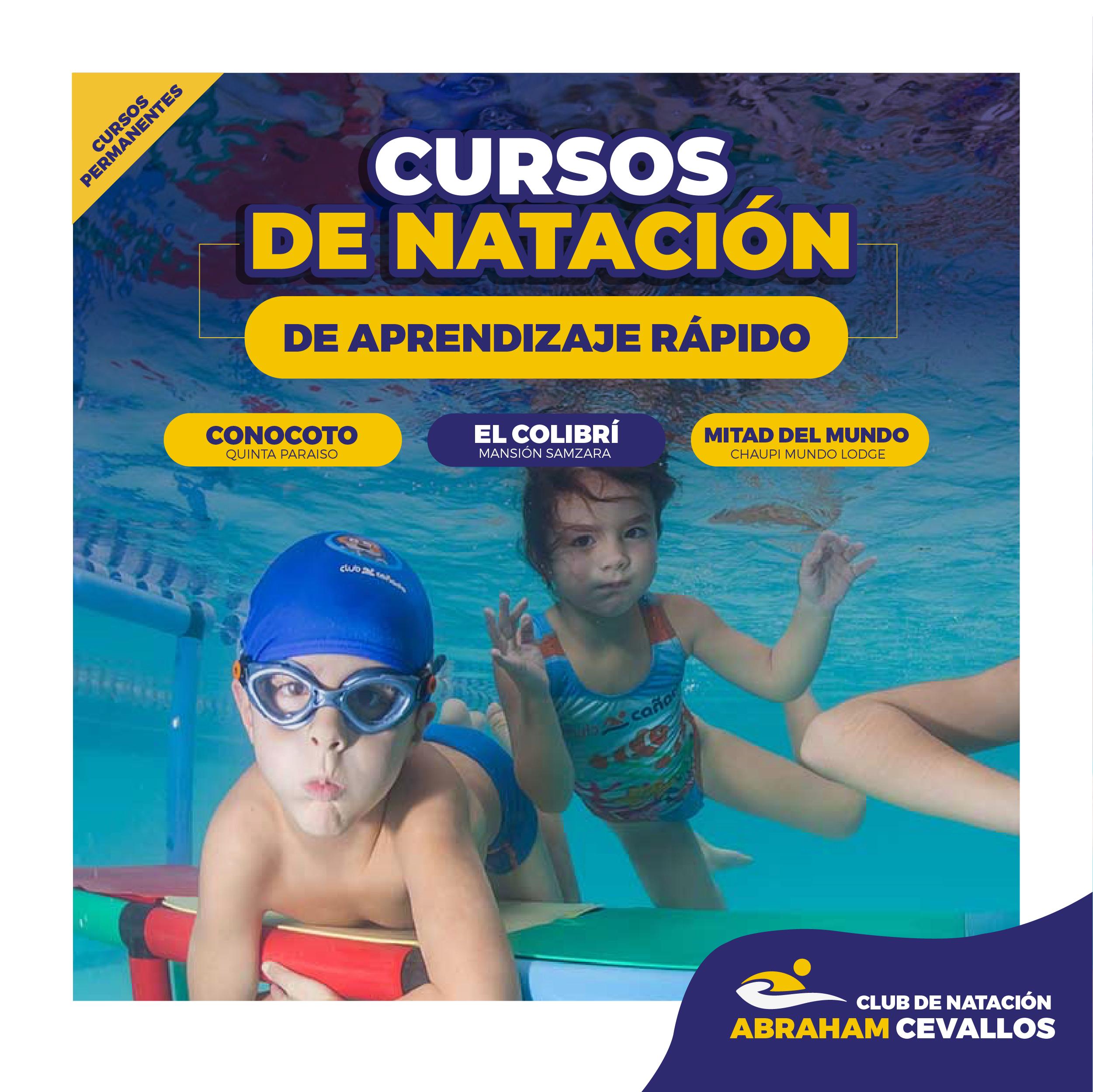 cursos natacion